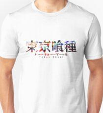 Tokyo Ghoul Colour Splash Logo Unisex T-Shirt
