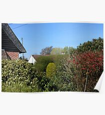 An Essex Garden at Easter Poster