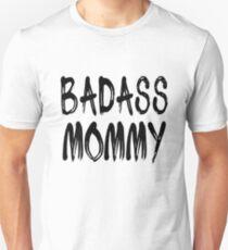 Camiseta ajustada Badass Mommy Funny Mom Design