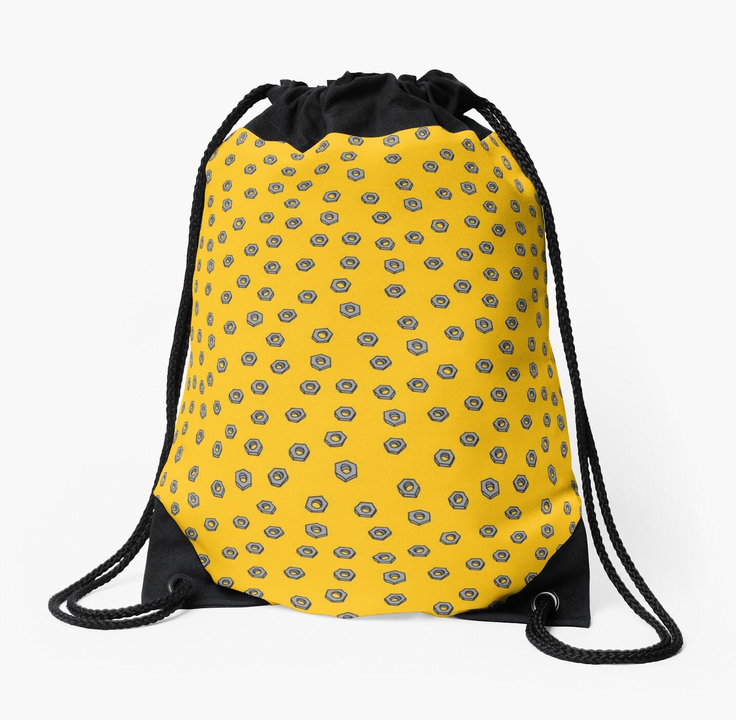 Nuts on Yellow by jennifer starchvill