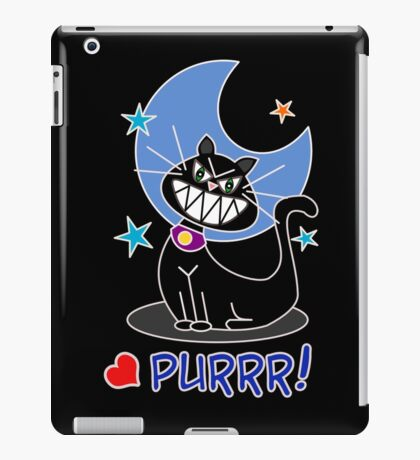Purrr! iPad Case/Skin