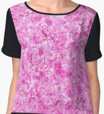 Cherry Blossoms - Delicious Pink Chiffon Top