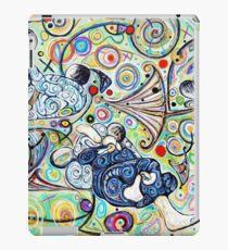 Let's Roll - Jiu-Jitsu - Bjj Art - Painting By Kim Dean iPad Case/Skin
