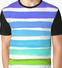 Rainbow Swatch Print - Stripes - Fun Prints - Prints for Kids Graphic T-Shirt