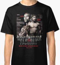 Mayweather vs Pacquiao Shirt  Classic T-Shirt