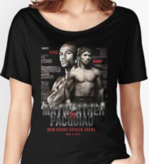 Mayweather vs Pacquiao Shirt  Women's Relaxed Fit T-Shirt