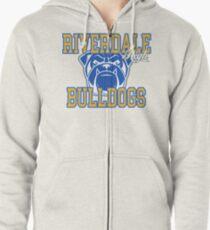 riverdale high bulldogs Zipped Hoodie