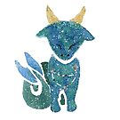 Cutie Capricorn by Justine Lombardi