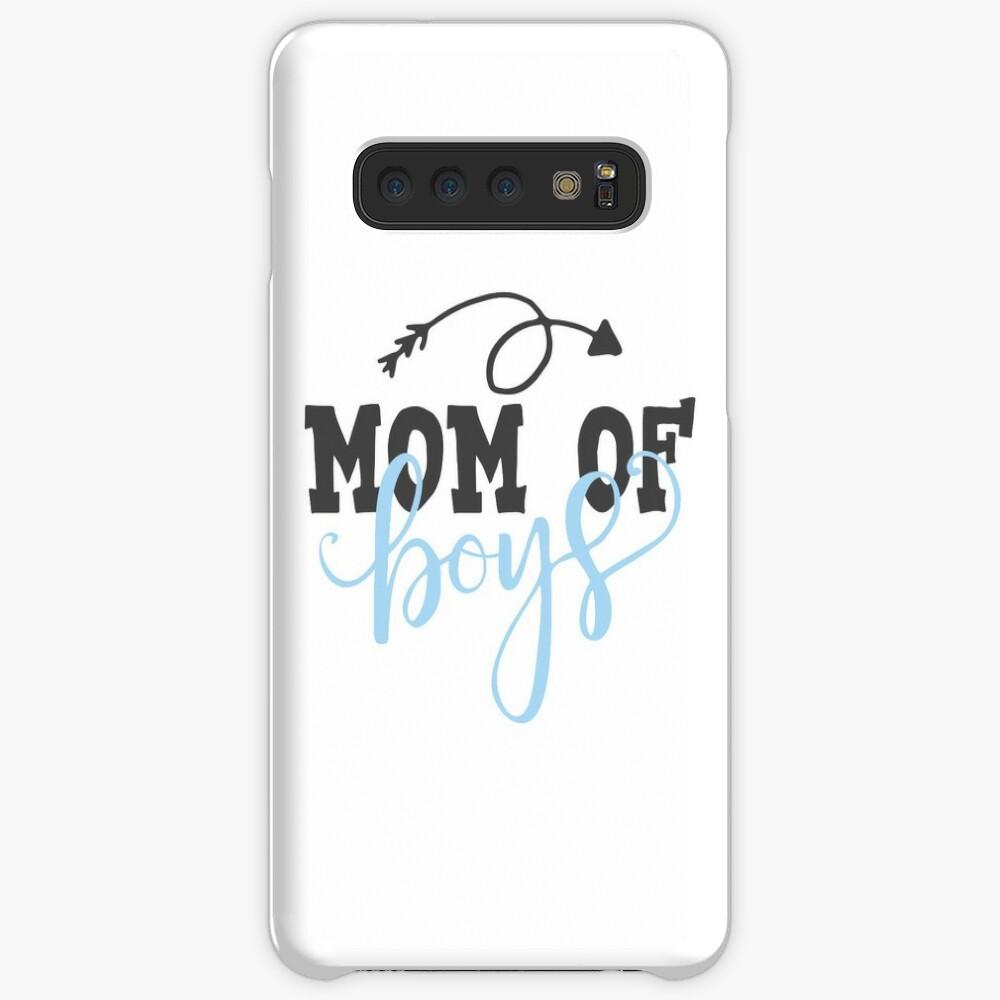 Mom Of Boys Case & Skin for Samsung Galaxy