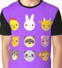 Animal babies Graphic T-Shirt