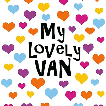 My Lovely Van with Hearts by MyLovelyVan