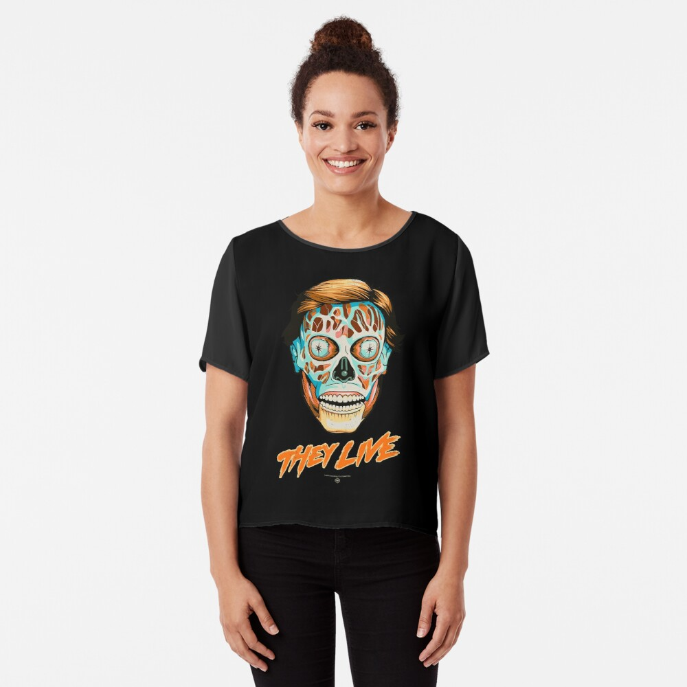 They Live - Classic Movies Chiffon Top