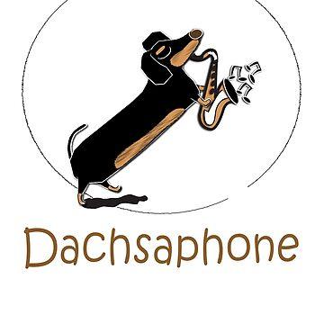 Dachsaphone by Khanagirl