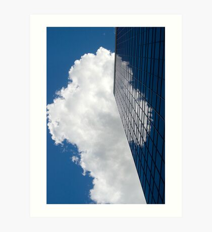 Cloud Illusion Art Print