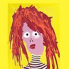 « Fille - Martin Boisvert - Faces à flaques » par Martin Boisvert