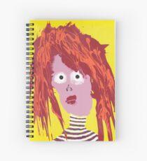 Fille - Martin Boisvert - Faces à flaques Cahier à spirale