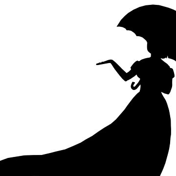 Silhouette of a Lady by JNTremblay
