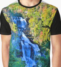 Upper Whitewater Falls North Carolina Graphic T-Shirt