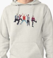 Boyband Stripes Pullover Hoodie
