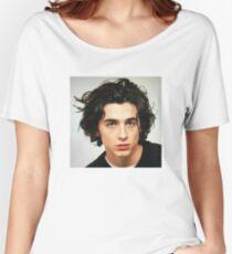 Camiseta ancha para mujer Timothee Chalamet