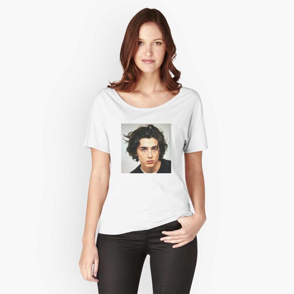 Timothee Chalamet Camiseta ancha