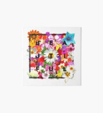 All Things Bright and Beautiful Art Board