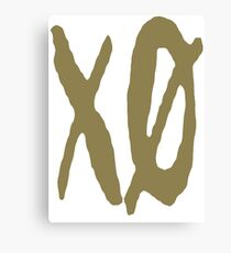 XO Slash [Gold] Canvas Print