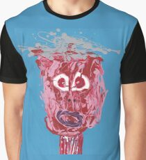 L'écorché - Martin Boisvert - Faces à flaques T-shirt graphique