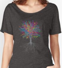 Es wächst auf Bäumen - Farbe Loose Fit T-Shirt