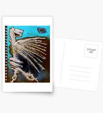 erreichen und umarmen Postkarten