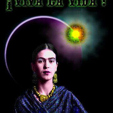 ¡ Viva La Vida ! - Frida Kahlo by xim0ex
