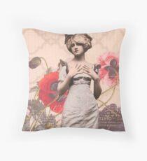 Une Femme Throw Pillow