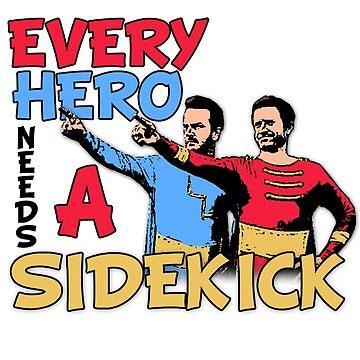 Sidekick T-Shirt (Rob & Rich) by IAmTumblweeeed