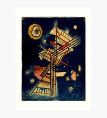Kandinsky - Dark Freshness Art Print