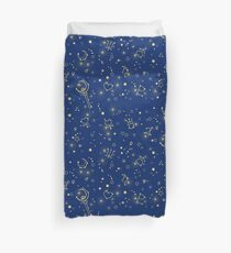 Sailor Moon Stars blue and gold Duvet Cover