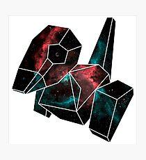 Cosmic Porygon Photographic Print