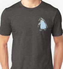 Emperor Penguin | Arctic Birdwatching | Birdwatcher Illustration | Zoology Natural History | Ornihology Unisex T-Shirt