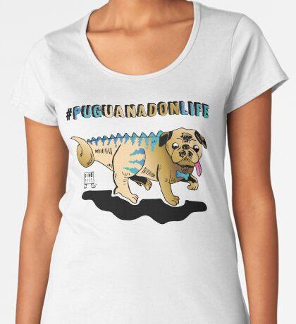 Puguanadon Life Premium Scoop T-Shirt