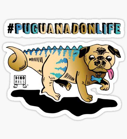 Puguanadon Life Sticker