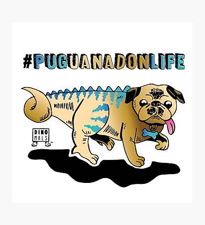 Puguanadon Life Photographic Print