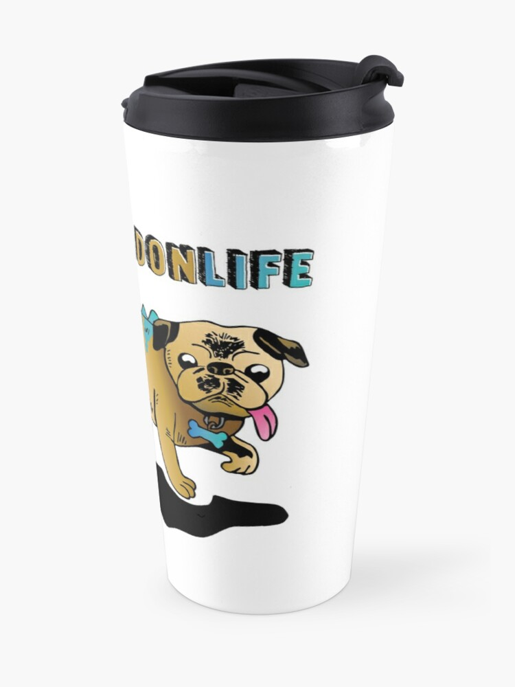 Alternate view of Puguanadon Life Travel Mug