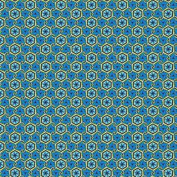 Aqua Prism Pattern by ChadKroll