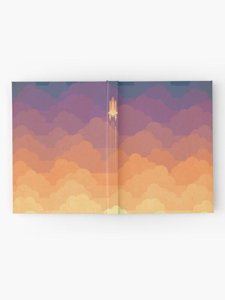 Alternative Ansicht von Wolken Notizbuch
