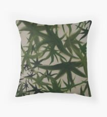 Leaves. Throw Pillow