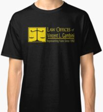 Law Offices of Vincent L. Gambini - Funny Novelty Tee Classic T-Shirt