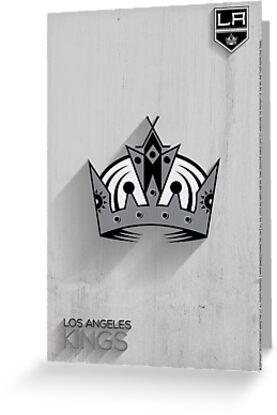Los Angeles Kings Minimalist Print by SomebodyApparel