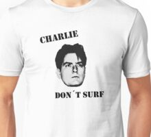 Charlie don't surf - Cool Mashup Unisex T-Shirt