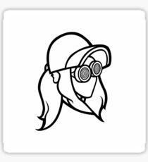rezz logo official Sticker