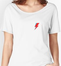 David Bowie Lighting Bolt Women's Relaxed Fit T-Shirt
