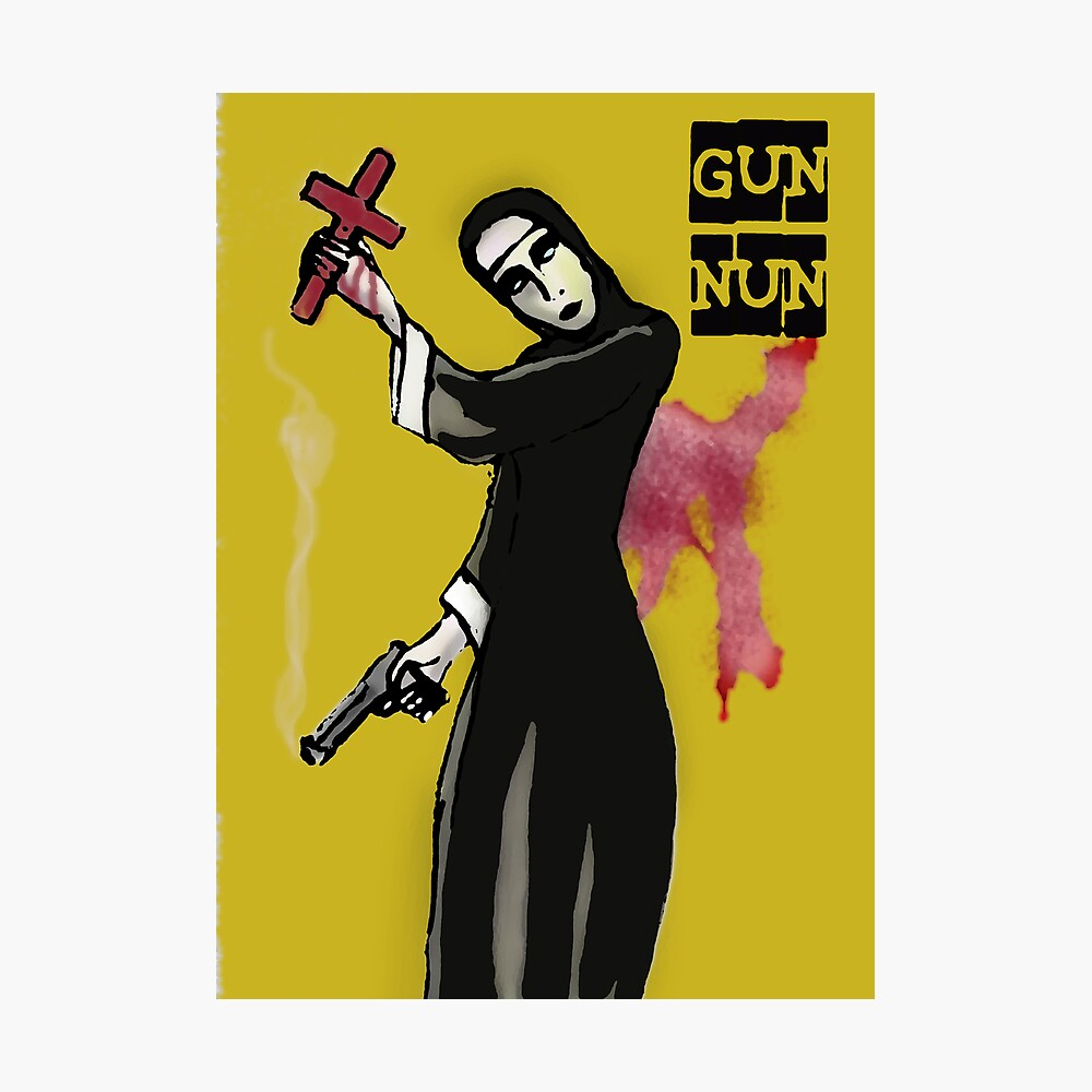 GUN NUN COVER Photographic Print